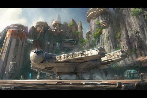 Star Wars Disney Parks concept art